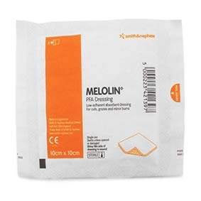 Melolin Absorbent Dressing 10cm x 10cm