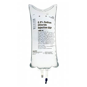 Saline Injection 1litre