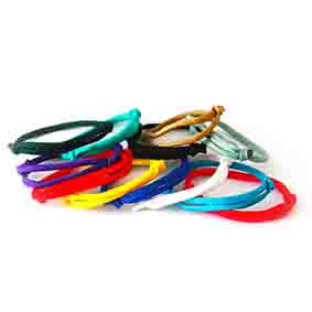 Nylon ID Collars (adjustable 16 to 28cm)
