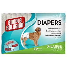Disposable Dog Diapers (12pk)