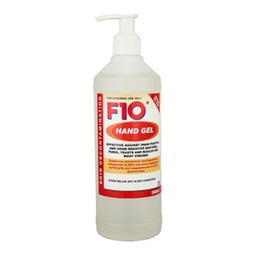F10 Disinfectant Hand Gel 500ml