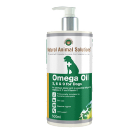 NAS Omega 3, 6 & 9 Oil for Dogs 500ml