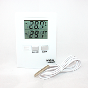 Digital Dual Thermometer with Probe