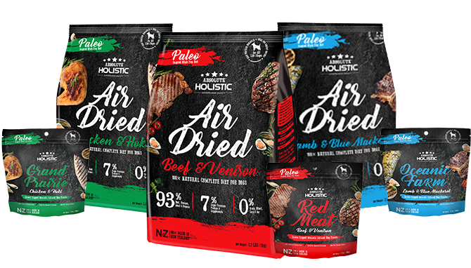 absolute holistic air dried food